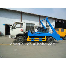 Hot-sales 4cbm swing-arm garbage truck