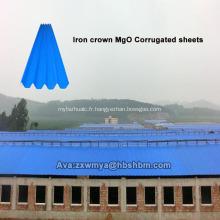 Feuille de toiture MgO pour film PET anti-corrosion résistant aux chocs