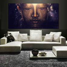 Buddha oil painting on canvas