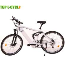 TOP / OEM 26 pulgadas 48 v 500 w Bafang motos de nieve de la suciedad eléctrica grasa de neumáticos bicicleta para adultos