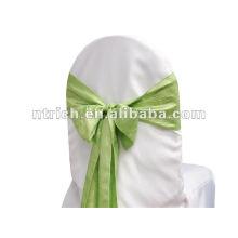 Sash tafetán, camino de mesa, mantel, mantel individual, servilleta, cubierta de la silla de la arruga