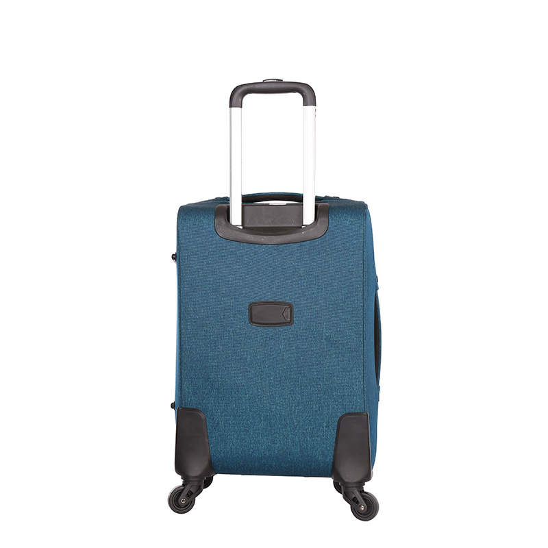 Huge Capacity Fabric Swivel Universal Wheels Luggage3