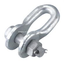 Aço galvanizado por imersão a quente U-Shackle