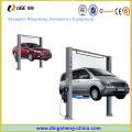 2 Pfosten-Aufzug-Autowaschanlage oder Reparatur-Maschinen-Aufzug benutzte 220V