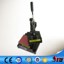 A venda quente de alta qualidade CE aprovou o logotipo recentemente a maquinaria da transferência térmica