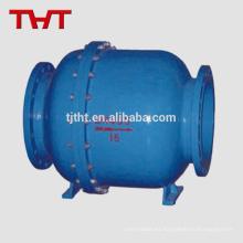 válvula de control de prevención de reflujo de doble bola de acero al carbono de diseño moderno