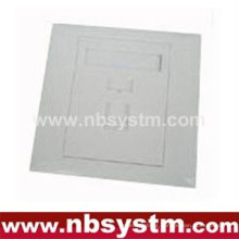 Face Plate 1 port, size:86x86mm