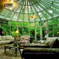 jardin d'hiver portatif de villa solarium