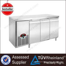 Guangzhou réfrigération équipement Fancooling refroidisseur sous comptoir