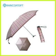"Venta al por mayor 21 ""* 8k Mini paraguas plegable de bolsillo de publicidad"