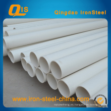 Tubo de PVC Certificado ISO para suministro de agua 20 mm ~ 630 mm