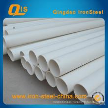 ISO Certificou o tubo de PVC para o fornecimento de água 20mm ~ 630mm
