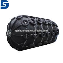 Defensa marina de goma neumática con la cadena y el neumático galvanizados hechos en China