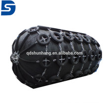 Pneumatic Rubber Marine Fender with Galvanized Chain and Tire Made in China