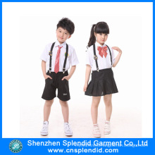 Shenzhen Factory Custom Cheap Fashion Kids School Uniforms