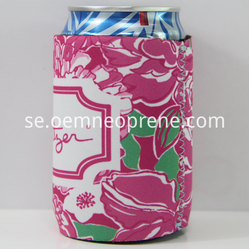 lily puzzle stubby holder
