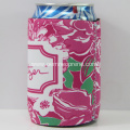 Lily puzzle printing stubby holder with rubber base