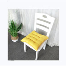 Discount solid color linen chair cushion driver student cushion