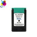Good quality inkjet printer ink cartridge for hp 802 ink cartridge for HP Deskjet 1000 1050 2050 2000 printer China factory