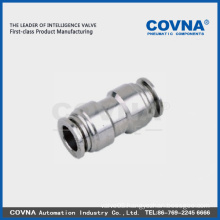 China Quick Pneumatic Connector stainless steel pneumatic fittings pneumatic one touch fitting( Factory)
