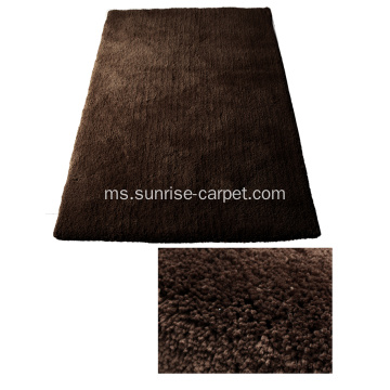 Microfiber Soft Shaggy Dengan Color Plain