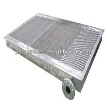 Compresseur d'air professionnel échangeur de chaleur / plaque refroidisseur d'huile / plaque d'aileron échangeur de chaleur pour compresseur à vis