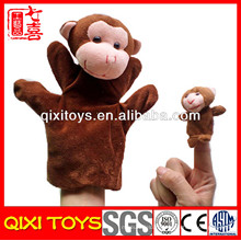 bébé doigt marionnettes animaux singe doigt marionnette