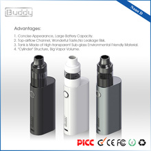 iBuddy Nano D operación simple 2200mAh Top Airflow Vap Mod, kits de inicio de vapor