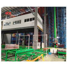 Ebil Tech Automated Warehouse Storage Racking Stacker Crane as/RS System for Cargo Storage