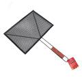 Non-stick barbecue wire mesh grill rack