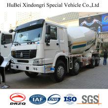 7 Cbm Sinotruck HOWO Euro 3 8X4 Concrete Mixer Truck