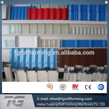 Archaized/ Antique colored glazed tile roof panel roll forming machine for sale