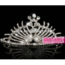 hot sale crystal fashion metal princess hair accessories crown