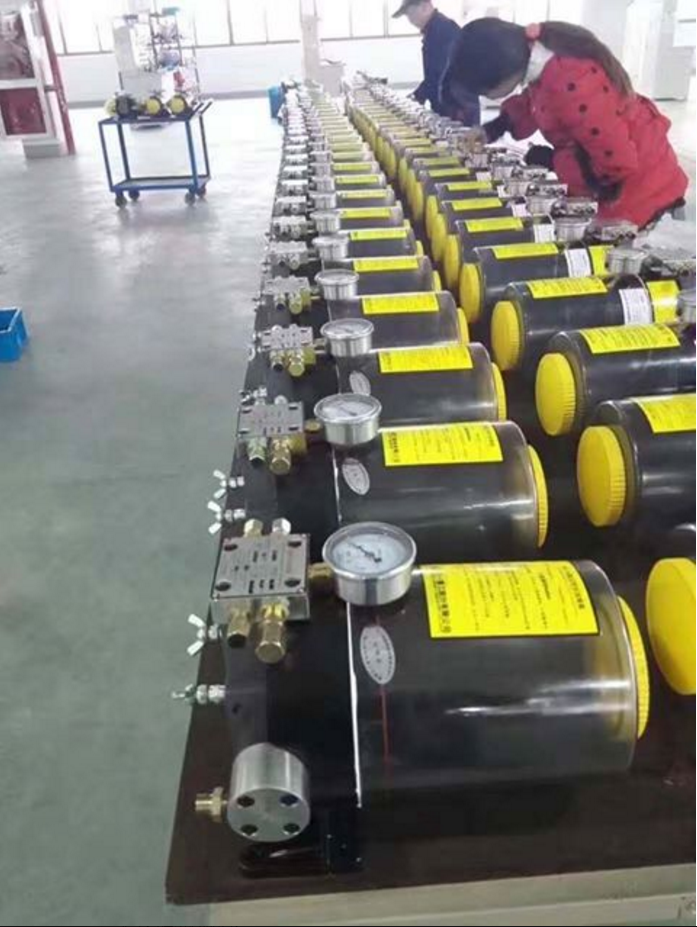 Synchronizing Lubricating Pump