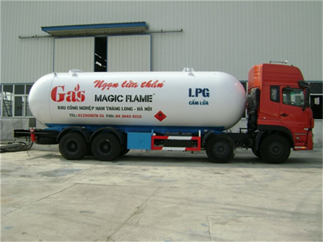 Dongfeng LPG Transport Tankers