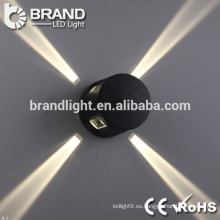 De buena calidad 4 luces laterales LED moderna pared de luz, luz decorativa de pared LED