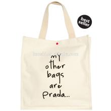 Cotton shopper string bag