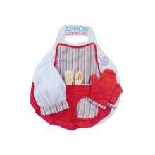 Kitchen Pretend Play Set 6PCS Apron Cooking Set (H10356001)