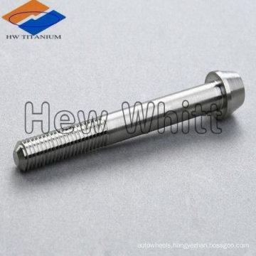 Titanium taper head bolts