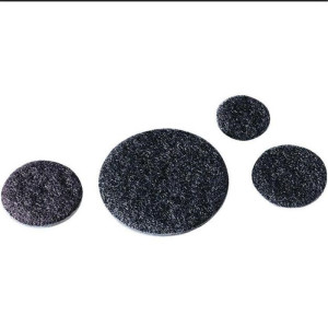 Customized round dot adhesive sticky Velcro coins