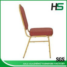 Красная ткань обеденный стул