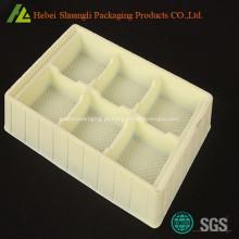 PS flocagem vácuo formada bandeja plástica para cuidados de saúde