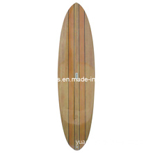 Wood Veneer Surface Standup Paddling Board, Surfboard for Wholesale, of High Quality