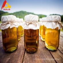 Fresh raw golden royal honey