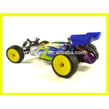 coche del rc escala 1/10, eléctrica había accionado coche del rc, coche rc teledirigido, coche de carreras VRX.