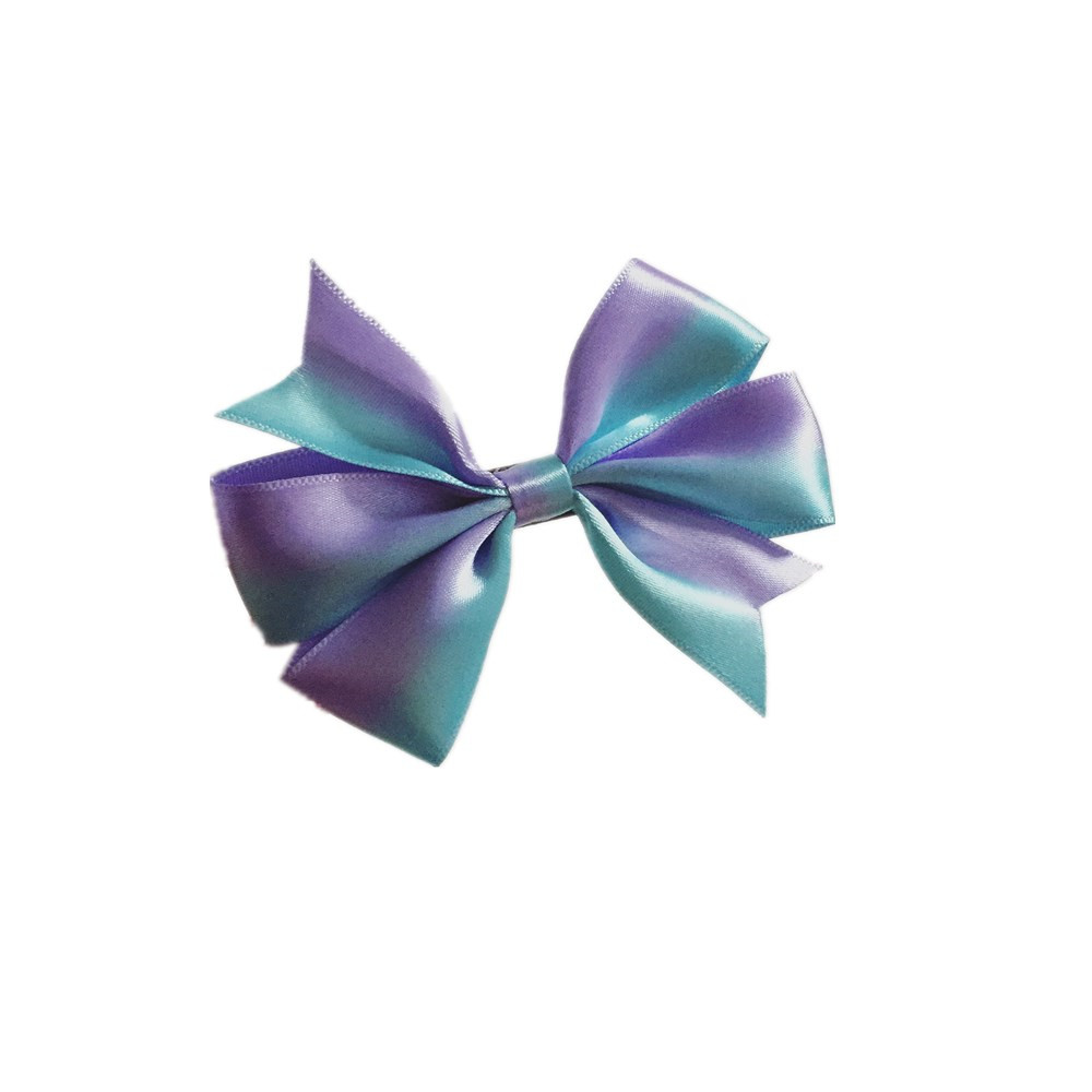 purple handcraft all size/style satin ribbon bow