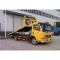 รถบรรทุกถนน DFAC Duolika Flat Two-in-one Road Wrecker Truck