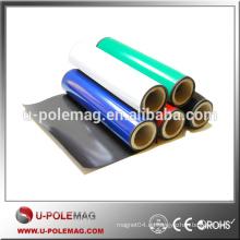 Imán de goma anisotrópico flexible con color PVC