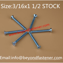 Countersunk Screw Bolts 3/16X1 1/2