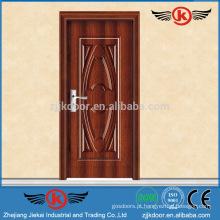 JK-SW9004 luxuosas e fortes portas interiores clássicas para quarto